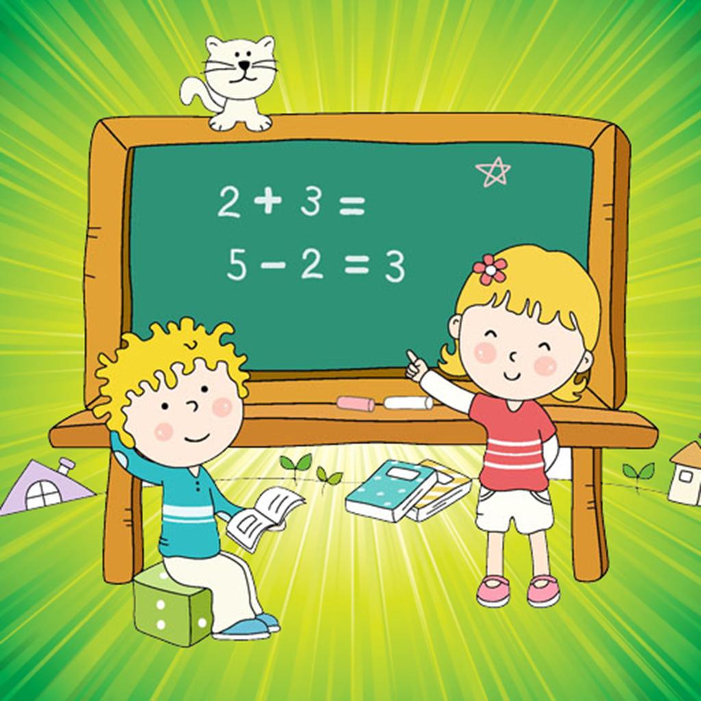 Dibujos de niños estudiando matematicas - Imagui