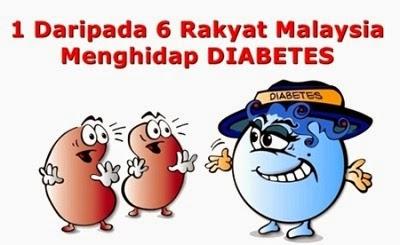 kencing manis atau diabetes mellitus ini sangat merbahaya