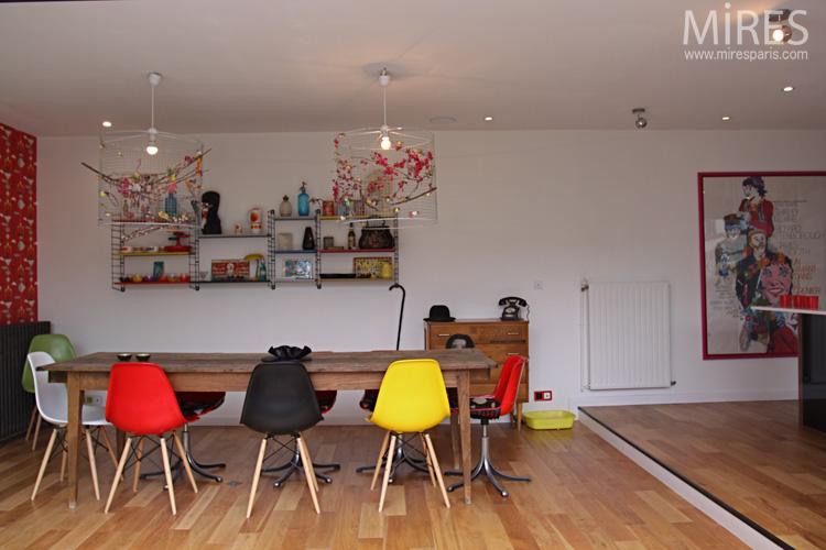 Decoración de Interiores Vintage con mucho Color | Casas Decoracion
