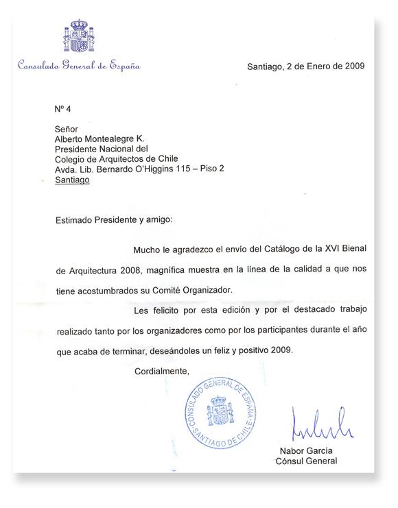 Formato De Carta Formal