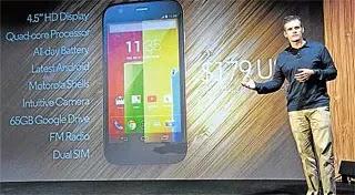 Motorola sasarkan pasaran baru