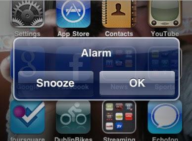 Setting Alarm di Smartphone