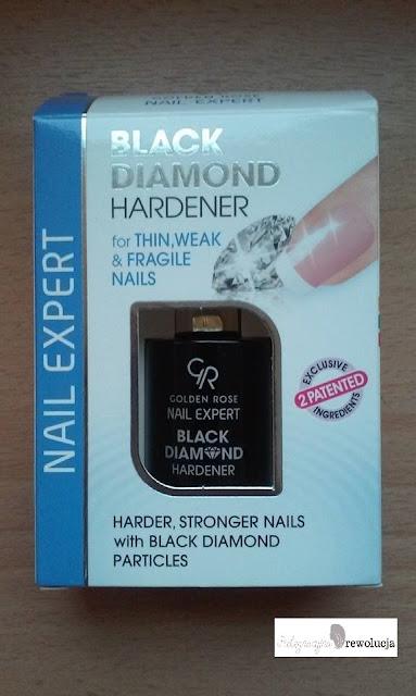 Golden Rose, Nail Expert, Black Diamond Hardener (Odżywka wzmacniająca paznokcie)