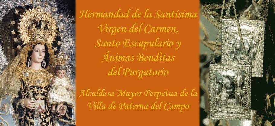 Hermandad de la Santísima Virgen del Carmen, Santo Escapulario y Ánimas Benditas del Purgatorio