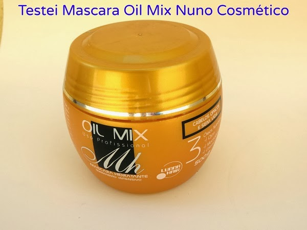 Máscara Oil Mix