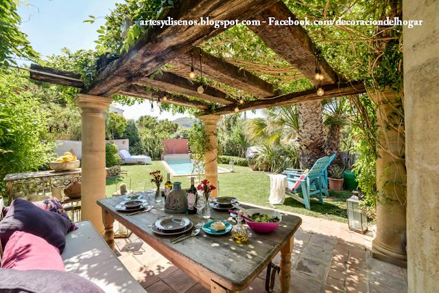 Como decorar interiores de una casa de campo decoraci n - Diseno de jardines para casas de campo ...