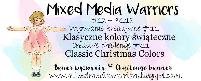 Wyzwanie #11 - Klasyczne kolory świąteczne | Challenge MMW #11 Classic Christmas Colors