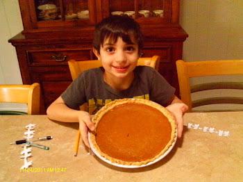 Luke baked the pie--