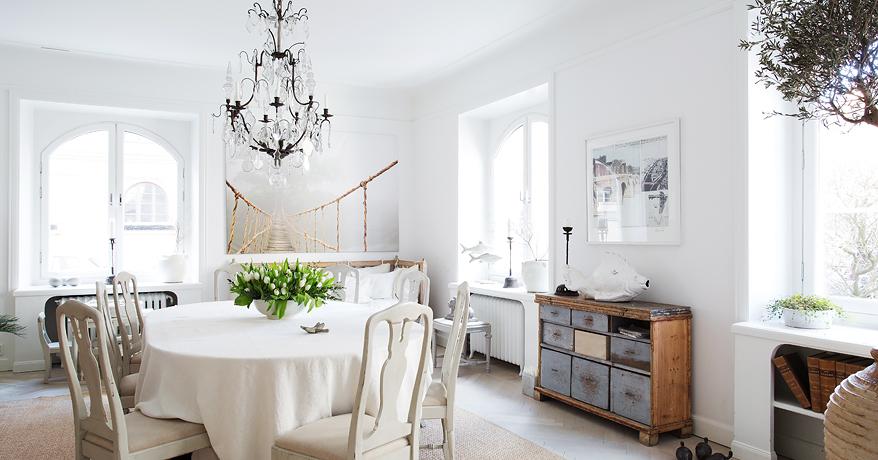 Shabby and charme nordic style e shabby chic per un for Nordic style arredamento
