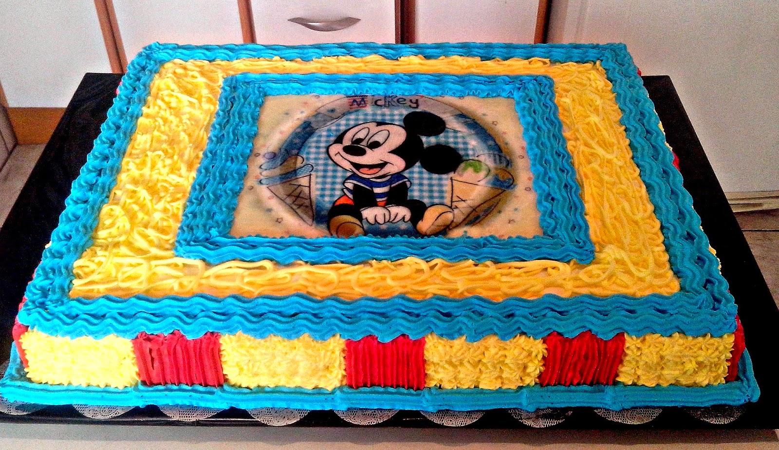 Bolos Mickey Baby