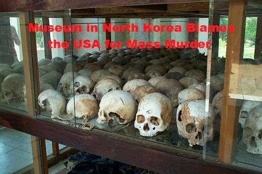 A Museum in North Korea Blames the USA for Mass Murder