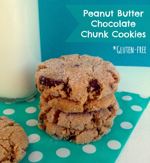 ... No. 17*: Gluten-Free Baking: Peanut Butter Chocolate Chunk Cookies