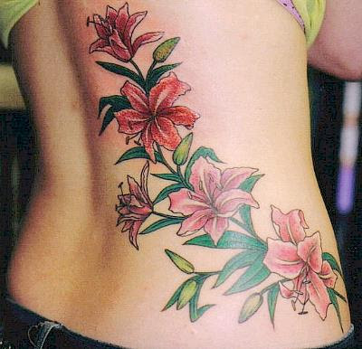 Lily Tattoo Design Picture Gallery - Lily Tattoo Ideas