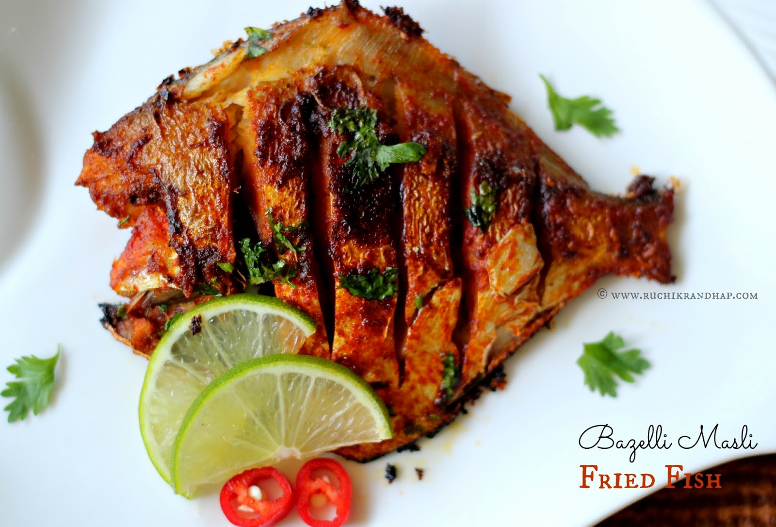 ... (Delicious Cooking): Bazelli Masli ~ Fried Fish (Basic Marination