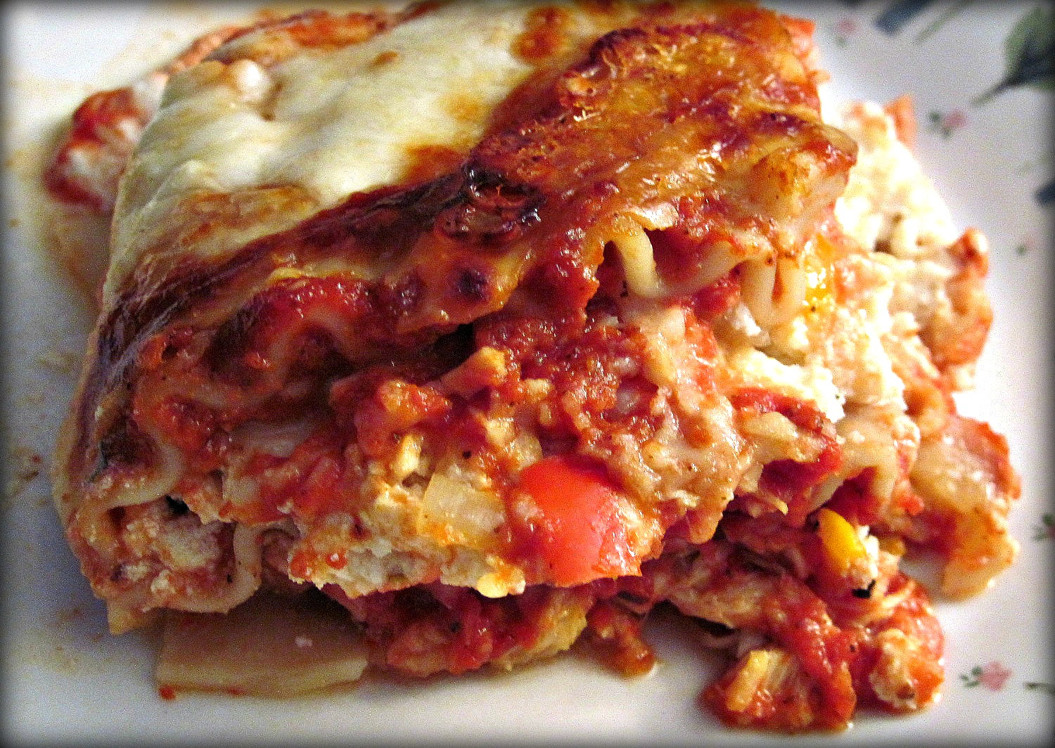 Aubrey's Recipes: Chicken and Roasted Garlic Lasagna