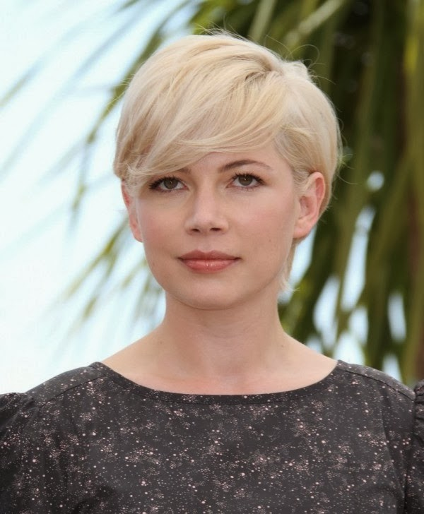 short hair for oval faces women