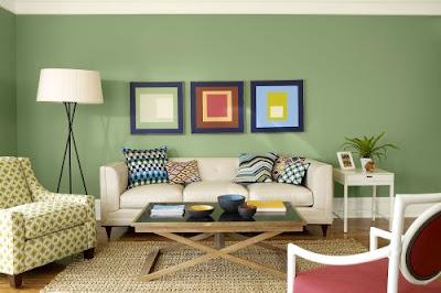 Salah satu Ruang yang paling sering kita rapikan dan dekorasi ulang di rumah yaitu  Rancangan Warna Dinding Ruang Tamu Minimalis