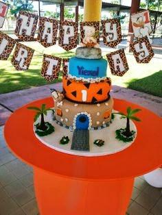 Tortas de Cumpleaños Decoradas con los Picapiedras, parte 2
