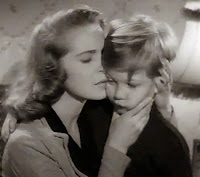 Mrs. Ennis (Janet Leigh) with Mr. Ennis (Gordon Gebert) in Holiday Affair (1949)