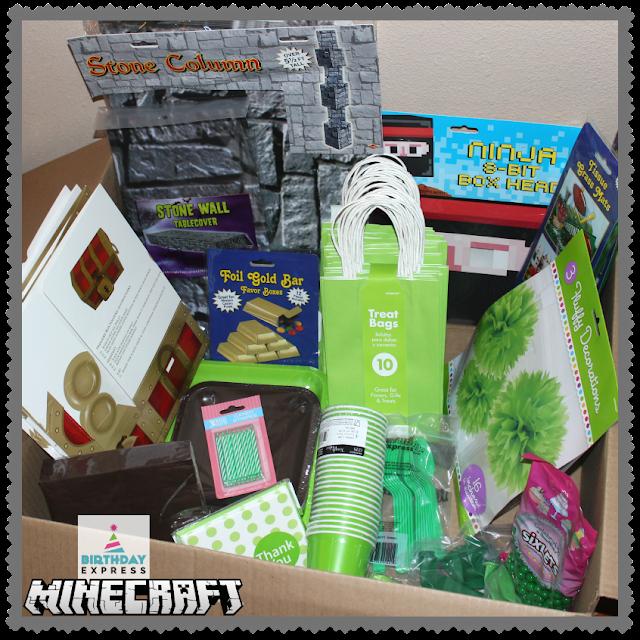 Minecraft Birthday Bundle