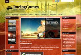 RacingGames Blogger Template