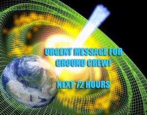Mensagem Urgente para equipe em Terra – Os Próximos tres dias