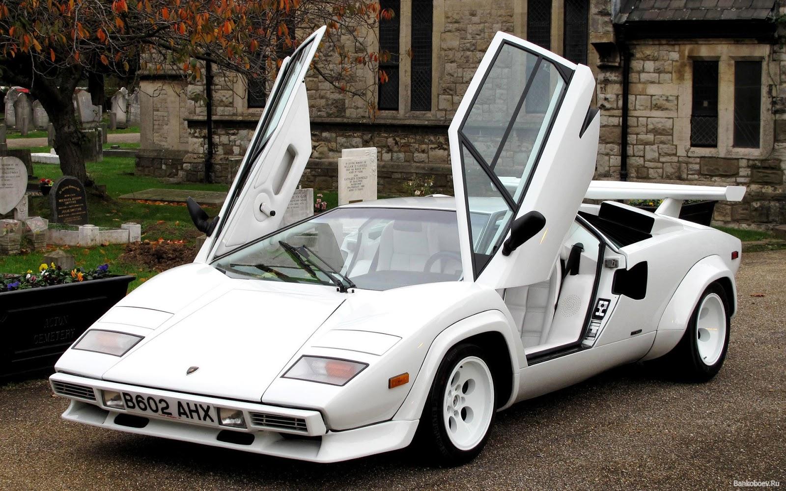 The Lamborghini Countach 1985 Blueiskewl