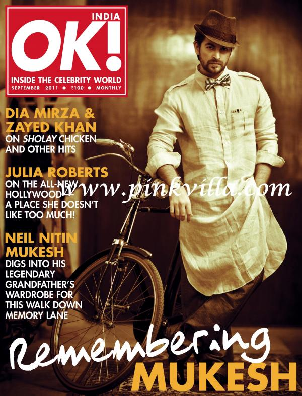 Neil Nitin Mukesh On The Cover Of OK! Magazine India