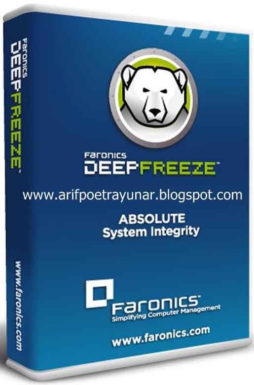 Deep Freeze 8 Standar Full Version - Arif Poetra Yunar Blog