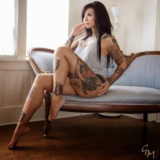 Gatas tatuadas #1