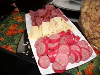 Meat and Cheese Tray at the Ted Ford House...That's GOP Food, Ted !