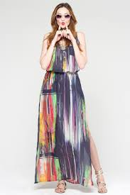 modelo de vestido de seda estampado - fotos e dicas
