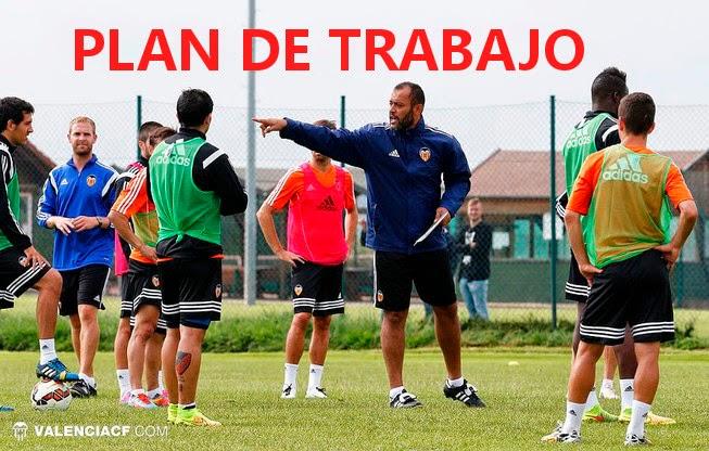 Plan de trabajo del Valencia CF