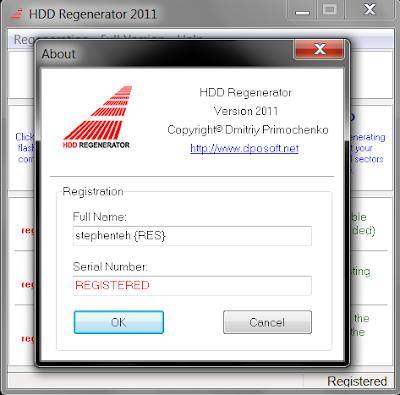 hdd regenerator 1.71 serial