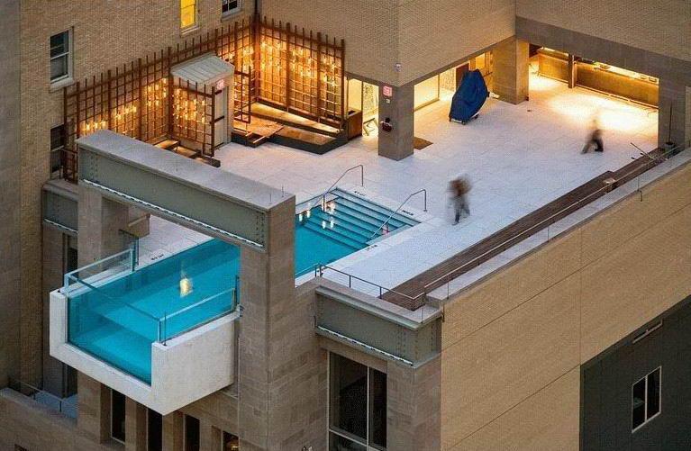 Piscina em cobertura de olho no peso ime j nor blog for Cobertura piscina