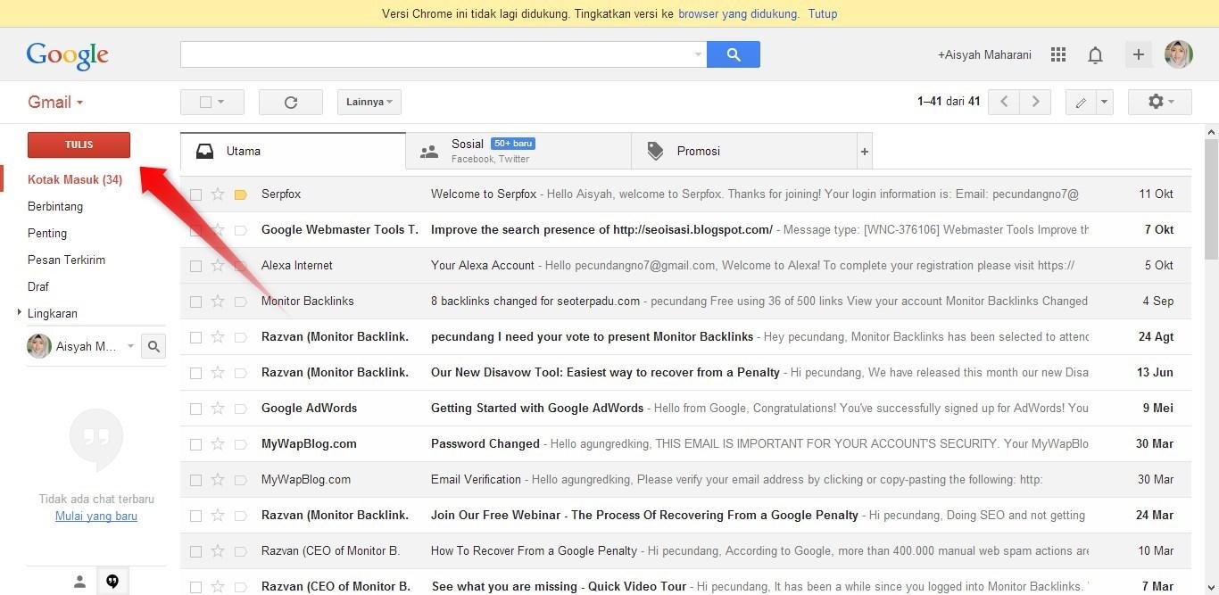 Cara Mengirim Email 1