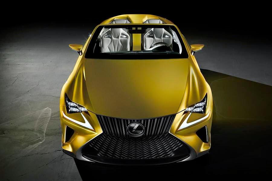 Lexus LF-C2 Concept (2014) Front