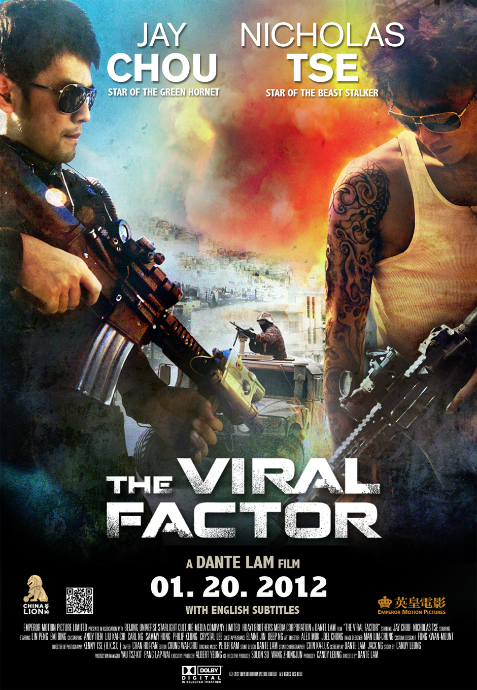 The Viral Factor / Jik zin / 2012 / Hong Kong / Online Film İzle