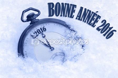 Feliz Año Nuevo 2016 Francés
