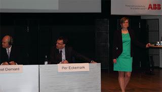 Frågestunden hölls av Suzanne Lagerholm