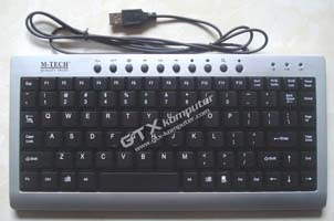 Keyboard USB M-Tech - Image by www.gtx-komputer.com