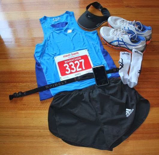 My Melbourne Marathon Race Kit