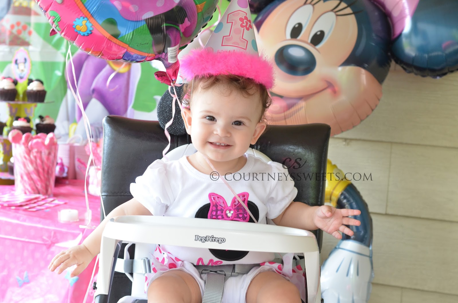 Sweet Babys 1st Birthday Party Minnie Mouse Party City