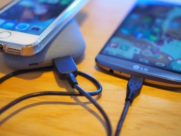 اشحن هاتف ال جي لاسلكيا مع QiStone+