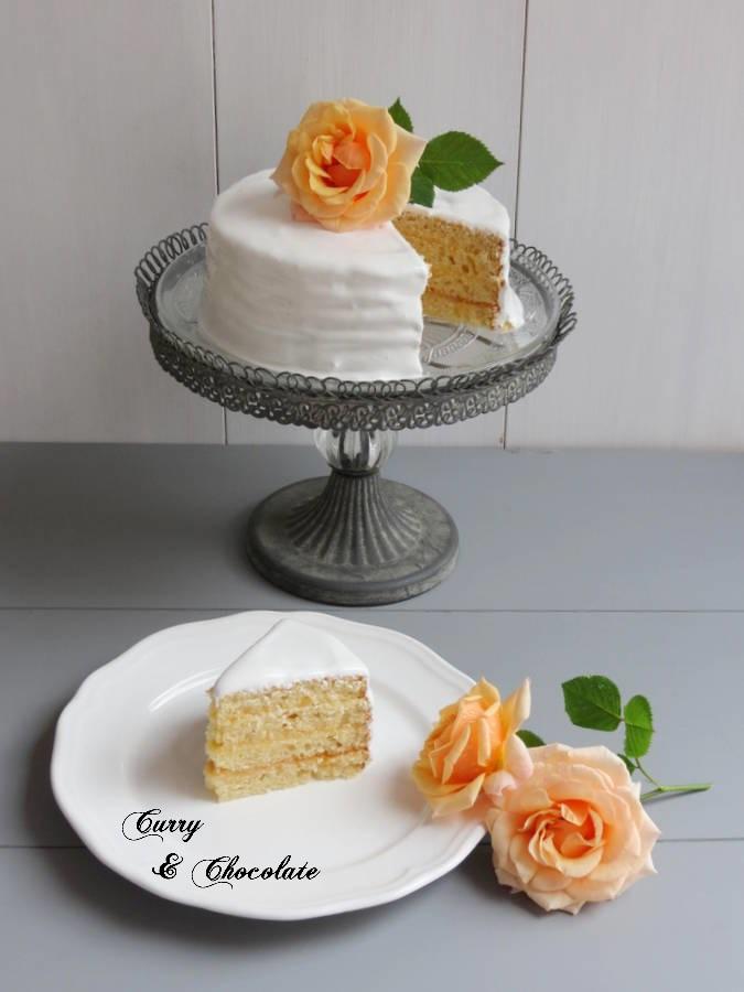 Tarta de limón con merengue suizo - Reto Alfabeto Dulce