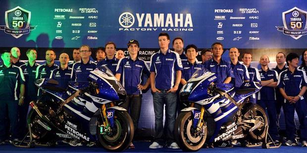 Launching Team Yamaha Tanpa Sponsor Utama