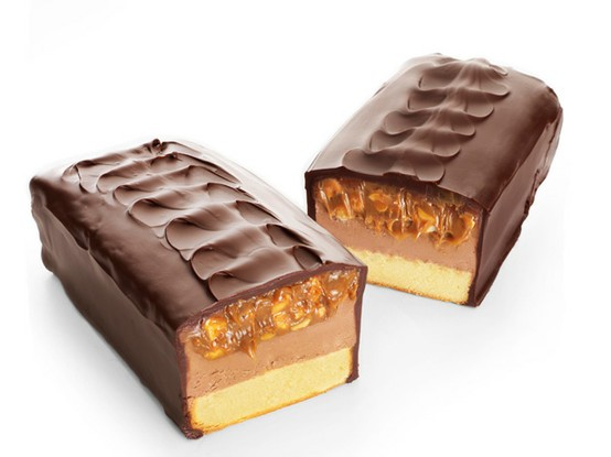 Snickers Cheese Cake Tasty