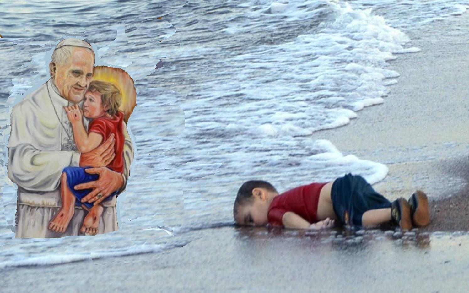 Menino refugiado morreu na praia