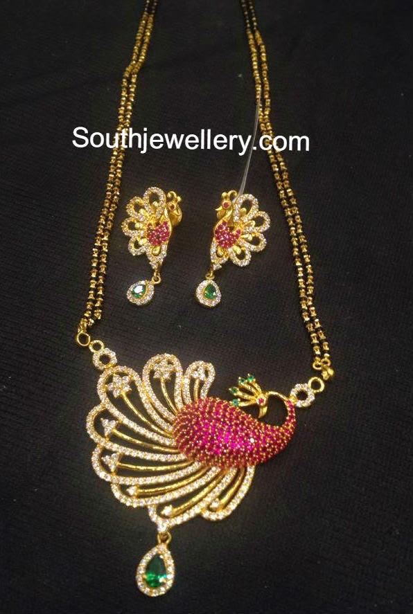 black beads necklace models