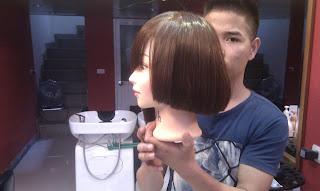 dạy cắt tóc bob, dạy nghề tạo mẫu tóc nam nữ tại hà nội